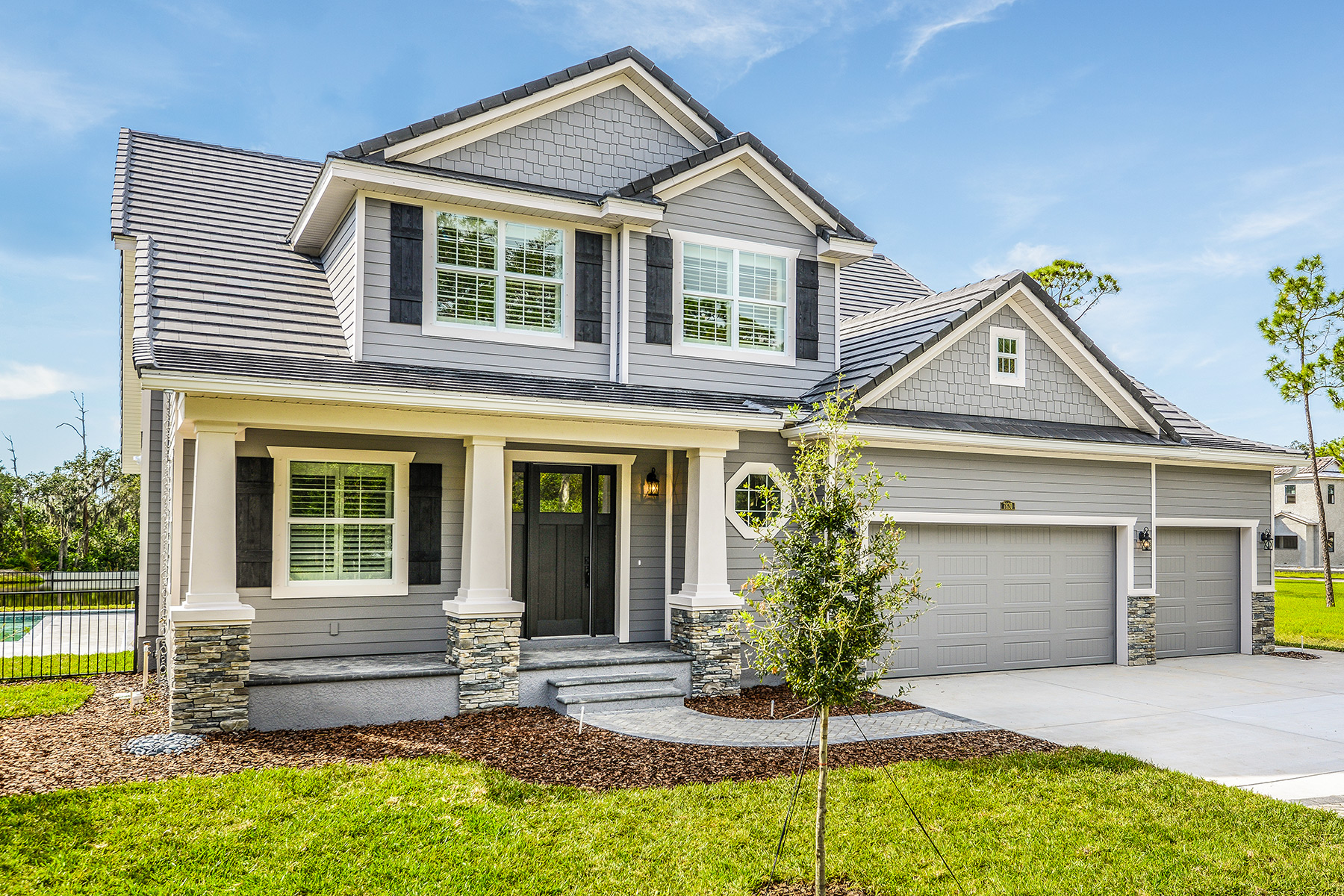 Southern traditional homes inc homemade ftempo for Southern homes florida