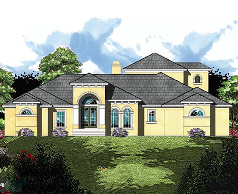 Mediterranean Styled Custom With Up To 6 Bedrooms